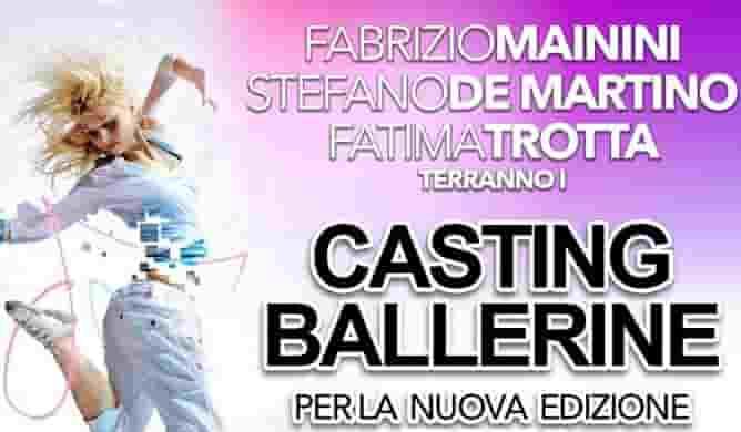 casting ballerine made in sud