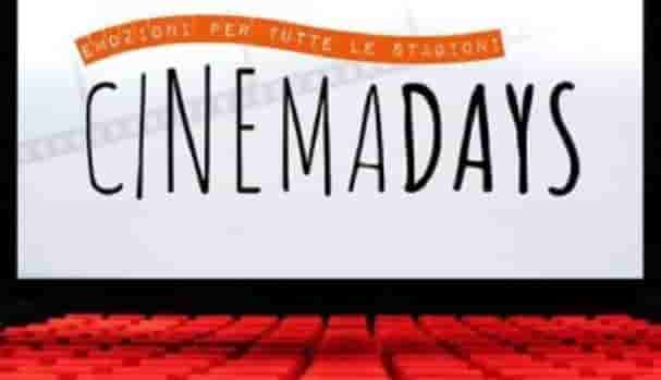 sale aderenti cinemadays 2019