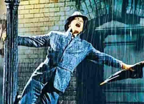 casting singin in the rain